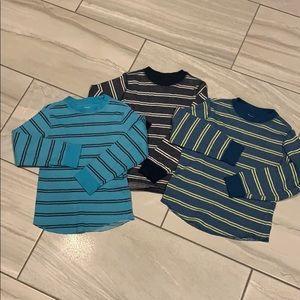 Like New GapKids Thermal Shirts Sz.XS 4-5 lot of 3